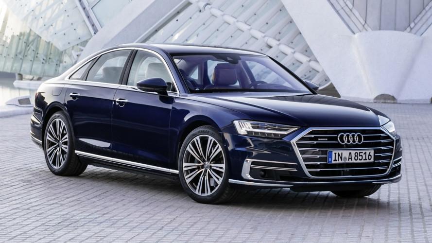 Nuova Audi A8, aperti i preordini