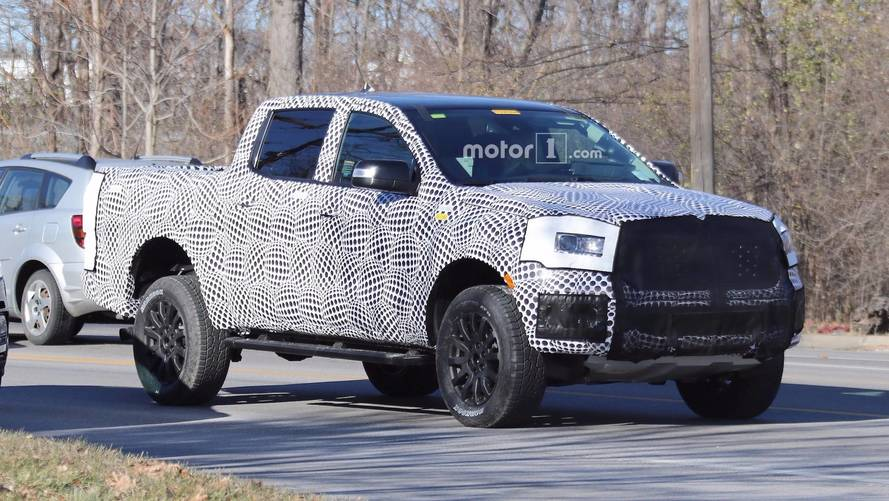 Ford Ranger FX4 Spied With Production Body