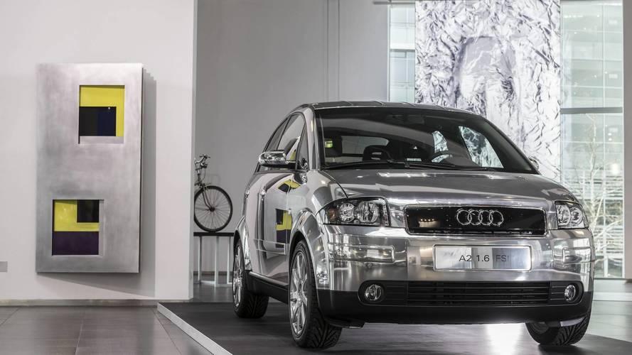 Exposition aluminium à l'Audi Museum d'Ingolstadt