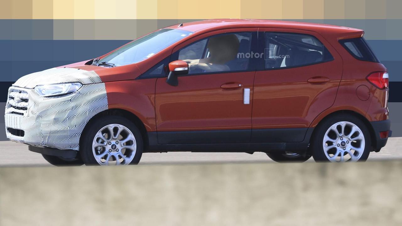 2018 Ford EcoSport spy photos  Motor1com Photos