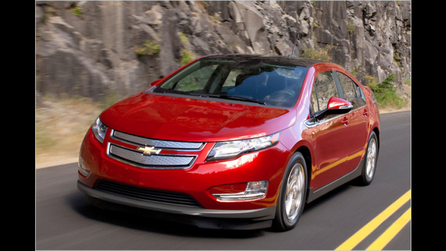 Chevrolet Volt: So kommt der Stromer in Serie