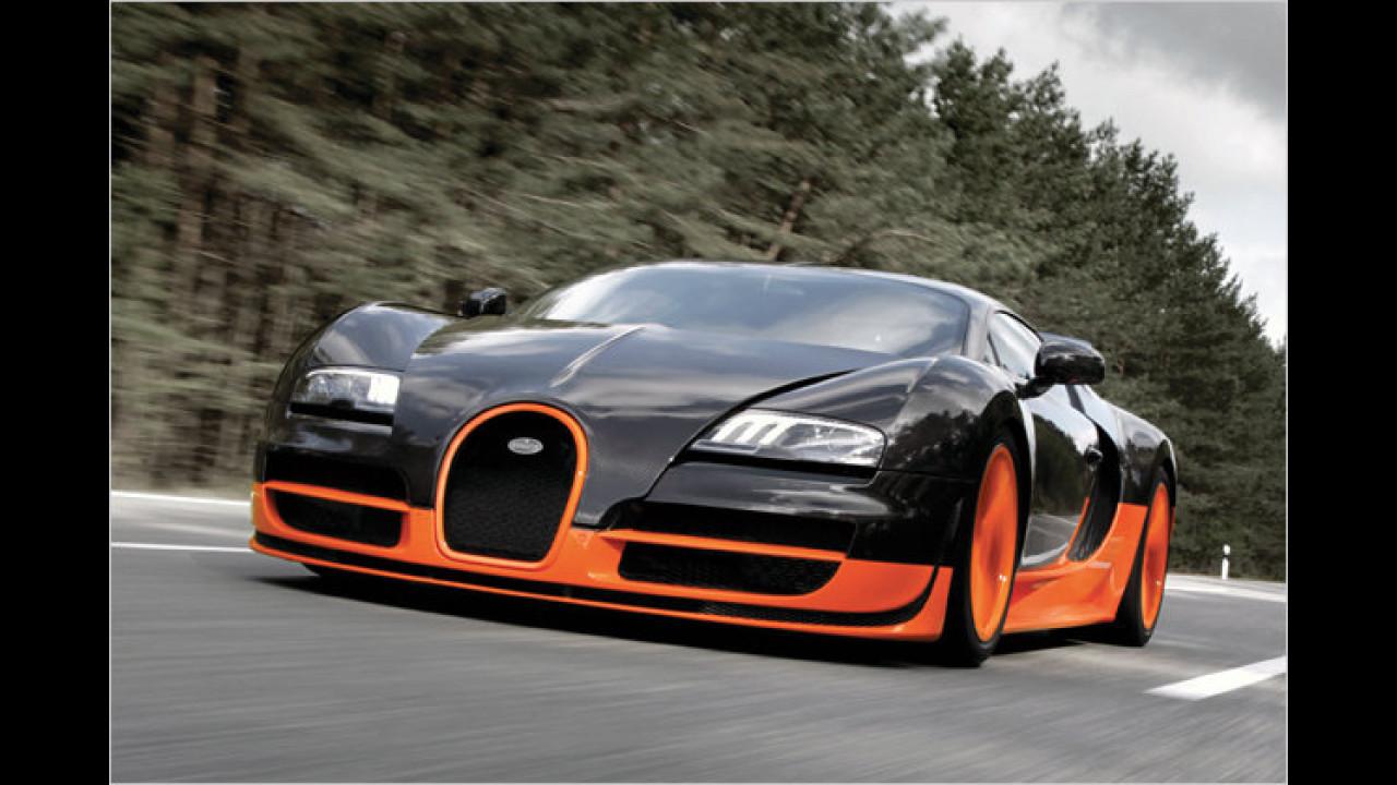 Schnellstes Straßenauto: Bugatti Veyron Supersport