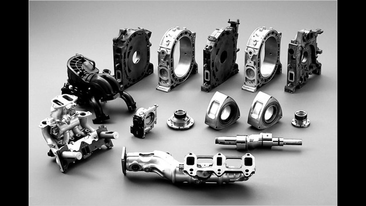Der Aufbau des Wankelmotors