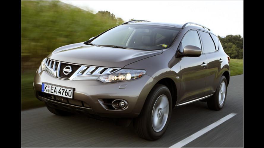 Nissan Murano mit neuem Diesel