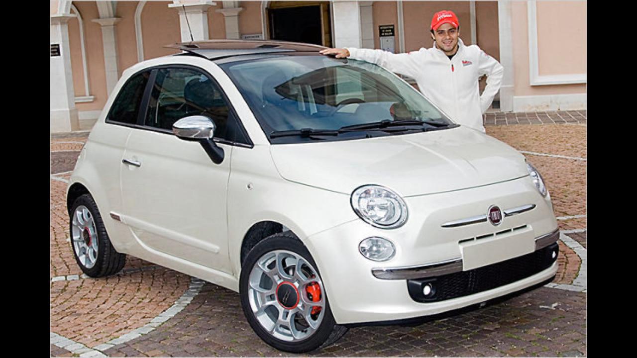 Felipe Massa: Fiat 500