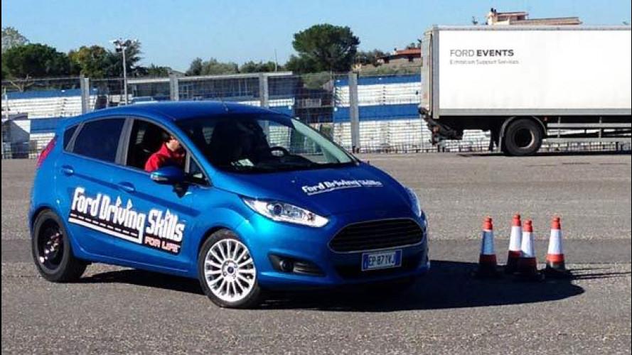 Ford in prima linea per la sicurezza stradale