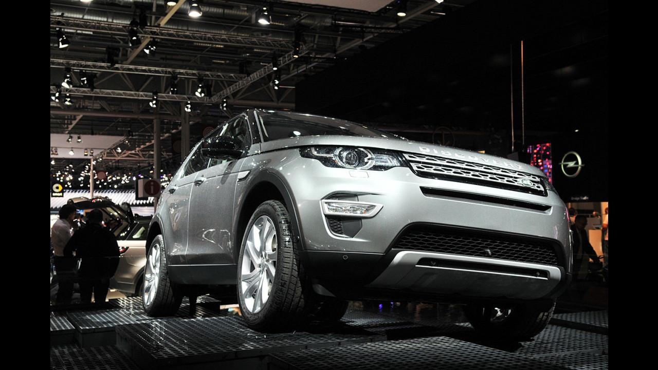 Land Rover al Salone di Parigi