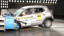 Renault Kwid crash-test Latin NCAP