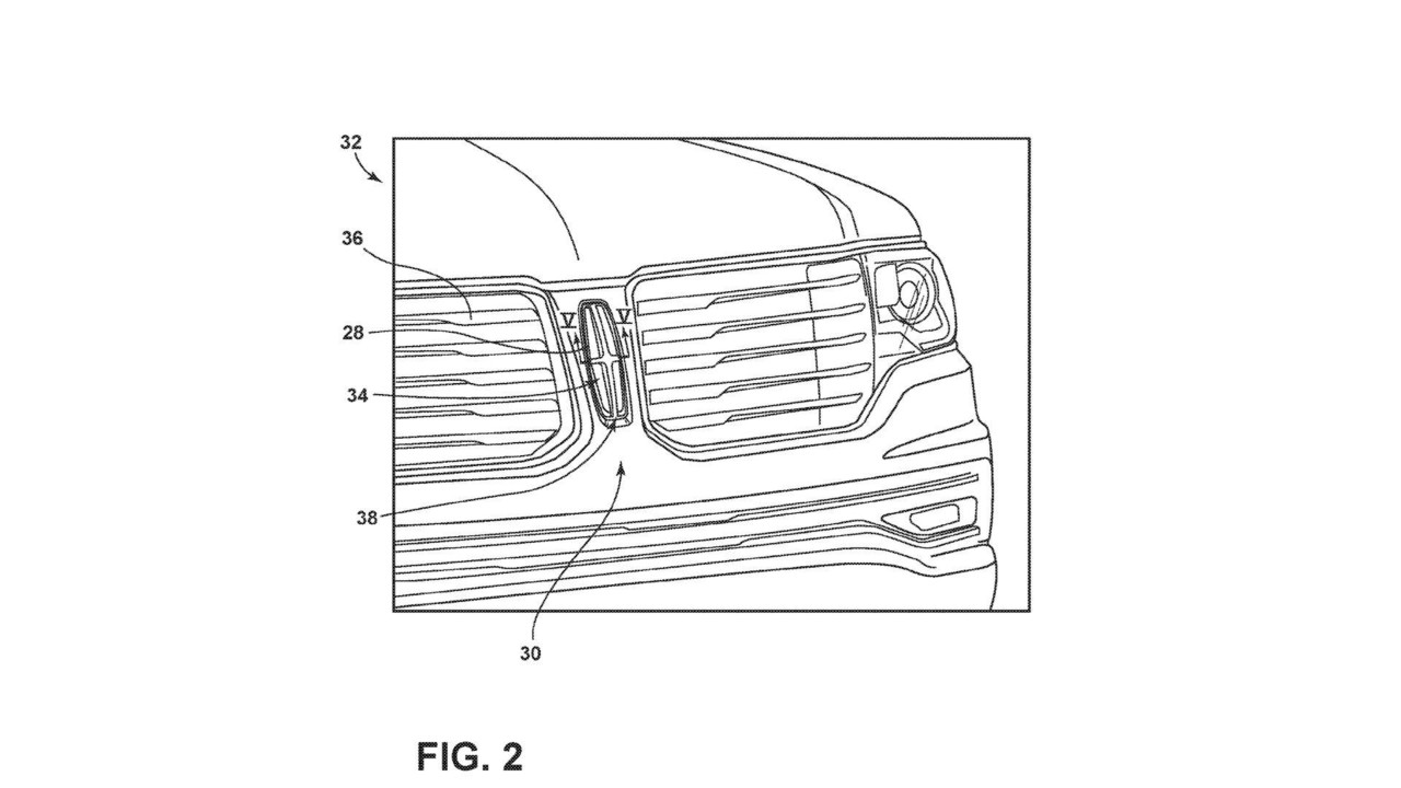 Ford Illuminated Emblem Patent