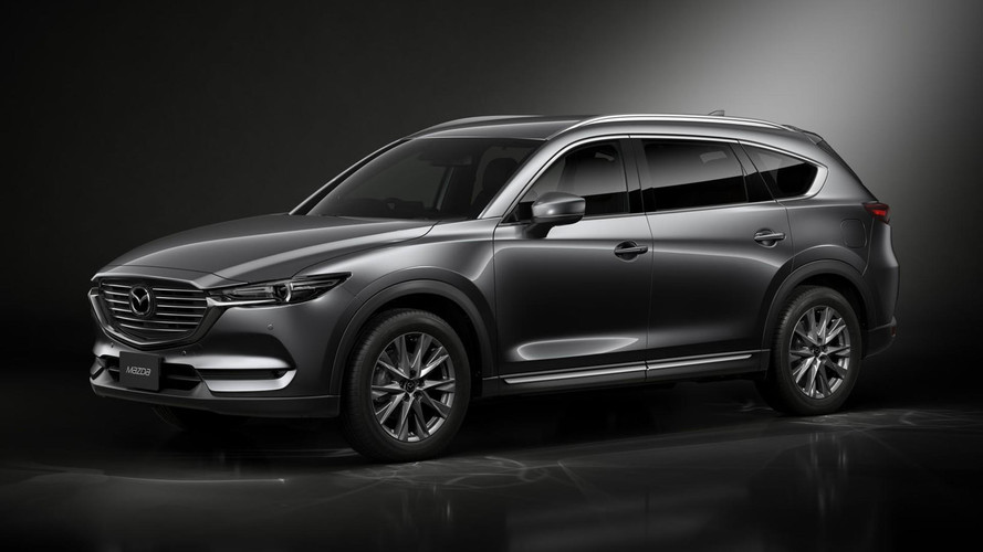 Mazda CX-8 official images