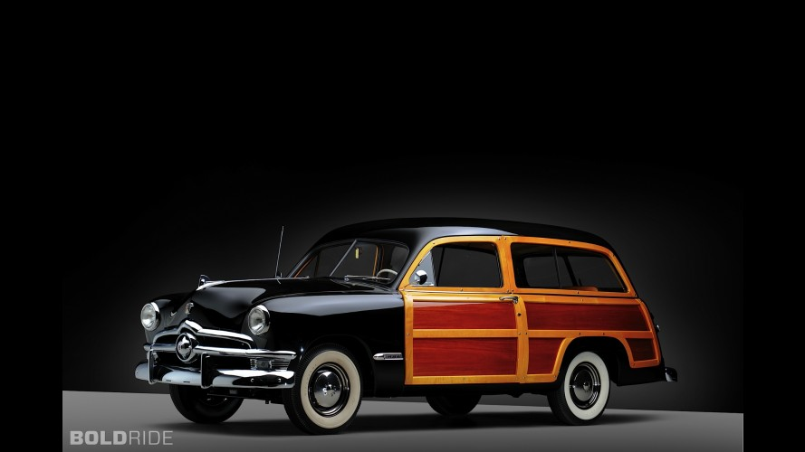 Ford Deluxe Country Squire Woodie Station Wagon