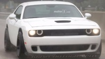 Dodge Challenger ADR Widebody Spy Shots