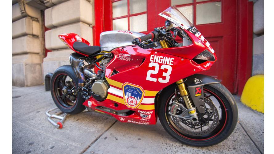 Ducati honors 9/11 responders