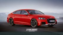 2018 Audi RS5 Sportback render by X-Tomi Design