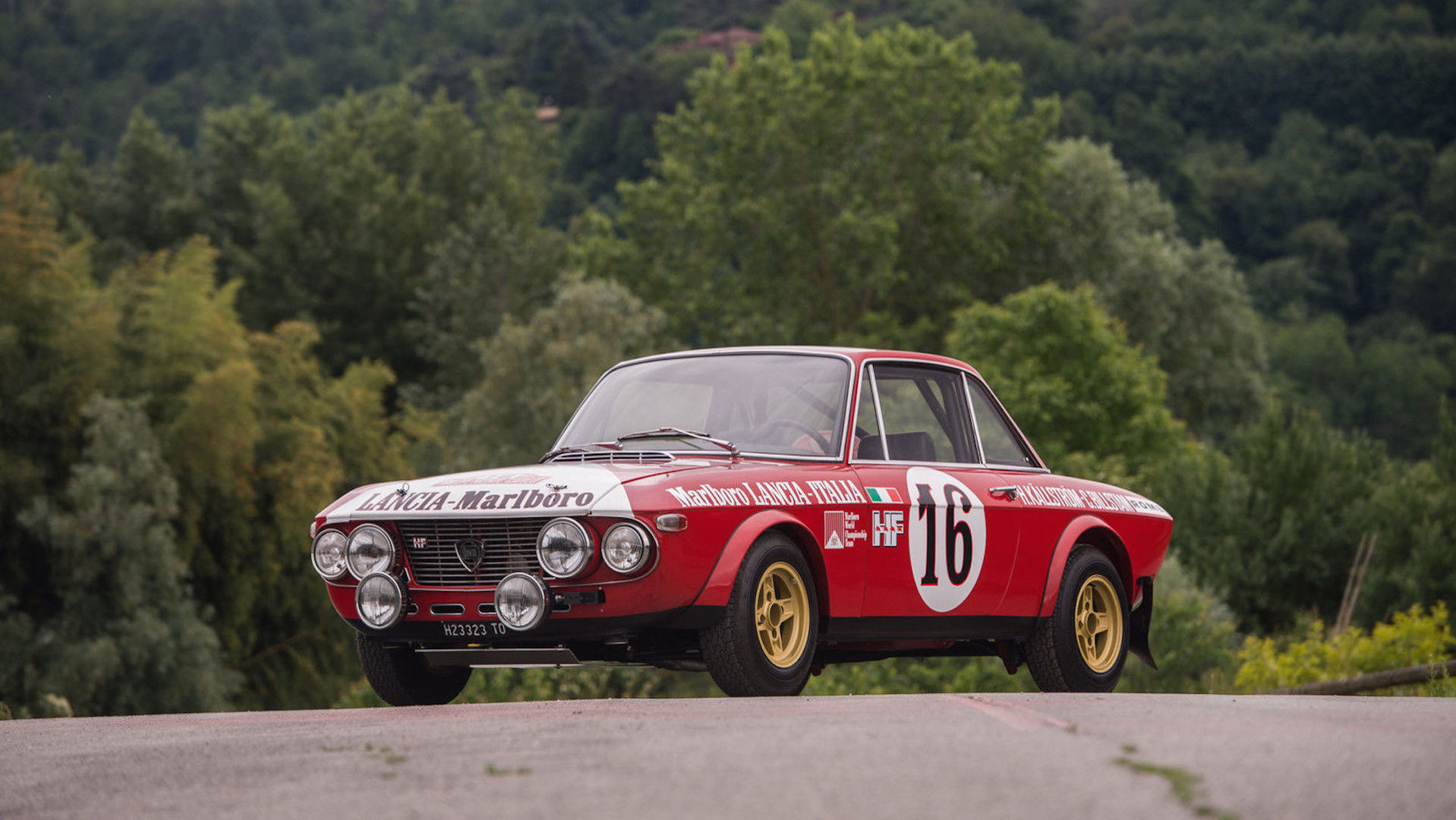 Pristine 1970 Lancia Fulvia rally car for sale on eBay