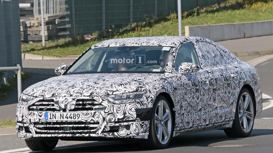 Photos espion - La future Audi S8 2018 se montre sur le Nürburgring !