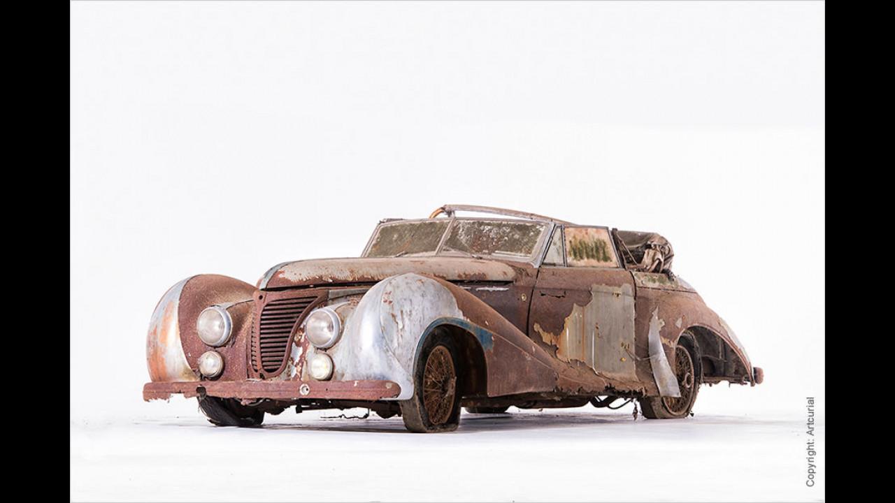 Talbot-Lago T26 Record Cabriolet Saoutchik (1948): 745.000 Euro