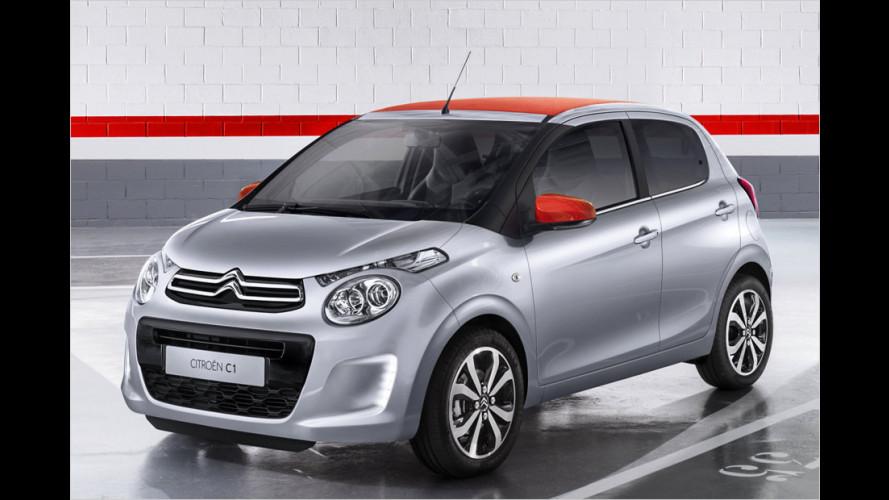 Citroën C1: Fit für die Stadt