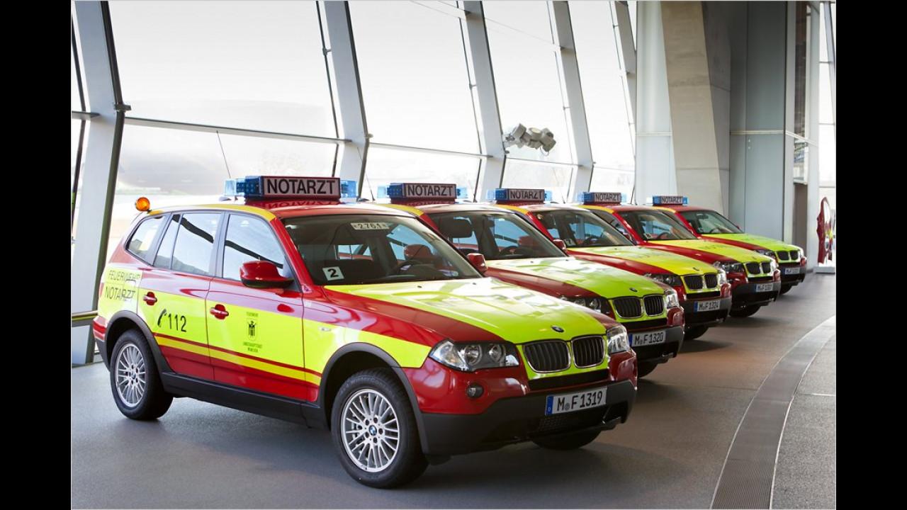 BMW X3 Notarzt/Feuerwehr