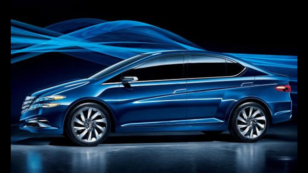 Li Nian Everus: Versão conceitual do Honda City tem visual exclusivo para a China