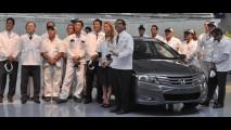 Produção do Honda City na Argentina começa em março