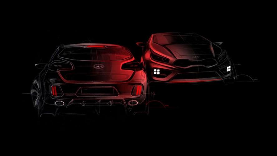 Kia divulga novo teaser do Pro_cee'd GT - Modelo terá motor 1.6 turbo de 206 cavalos