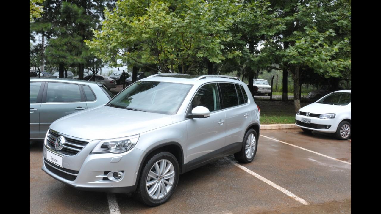 Segurança: Volkswagen Tiguan foi o carro mais blindado do país no primeiro semestre