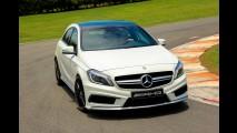 Volta rápida: Mercedes A 45 entrega patada de 360 cv e grife AMG por R$ 259,9 mil