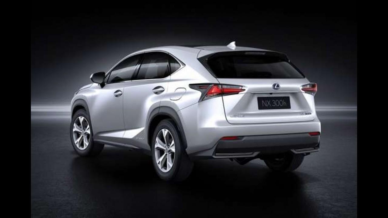 Versão de produção do Lexus NX é revelada - veja galeria com todos os detalhes