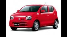 Este é o novo Suzuki Alto: pesa apenas 610 kg e tem consumo de 37 km/l