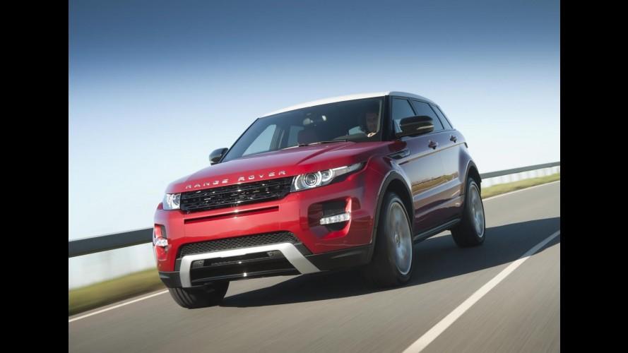 Land Rover fabrica primeira unidade do Range Rover Evoque