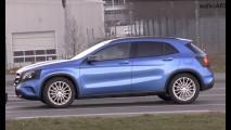 Flagra: futuro nacional, Mercedes GLA atualizado é pego com pouco disfarce