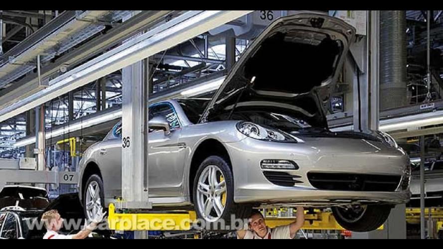 Porsche inicia produção do novo Panamera em Leipzig - Compradores conhecerão a fábrica