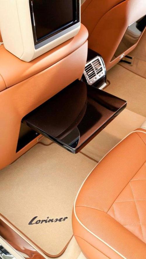Lorinser S70 6.0 V12 Bi-Turbo gets detailed [video]
