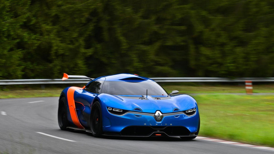 Renault Alpine sports car on track for 2017 launch