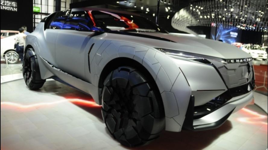 Cina, le auto più curiose del Salone di Shanghai