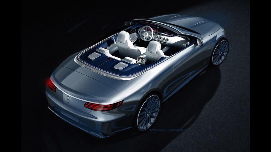 Mercedes Classe S Cabriolet, l'ammiraglia scoperta