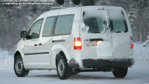 VW Caddy XXL Spy Photo