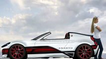 Abarth Roadster Artists Rendering