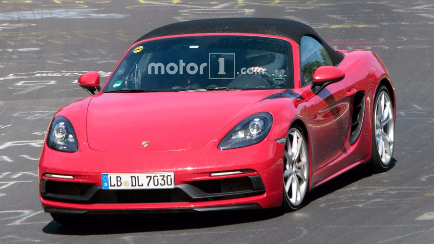 Porsche Boxster GTS Spied Looking Low And Fast At The Nürburgring