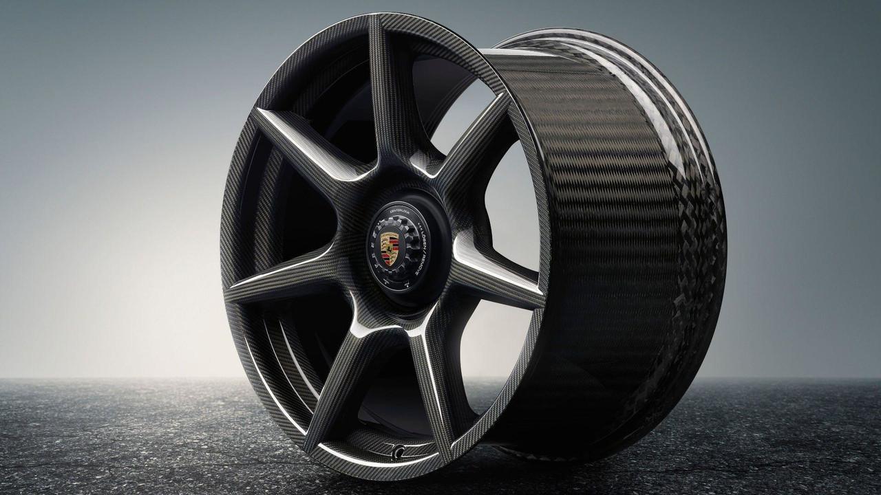 Porsche Braided Carbon Fiber Wheels