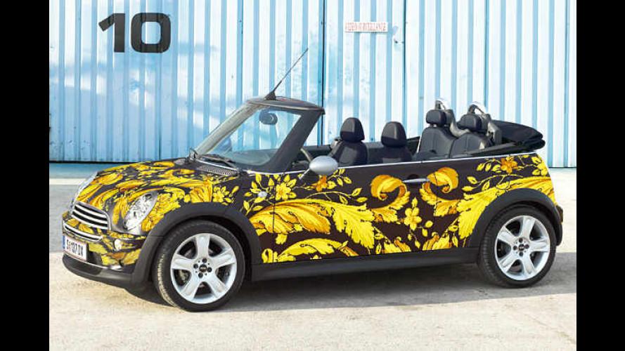 Drei, zwei, eins… Mini: Versace-Cabrio wird versteigert