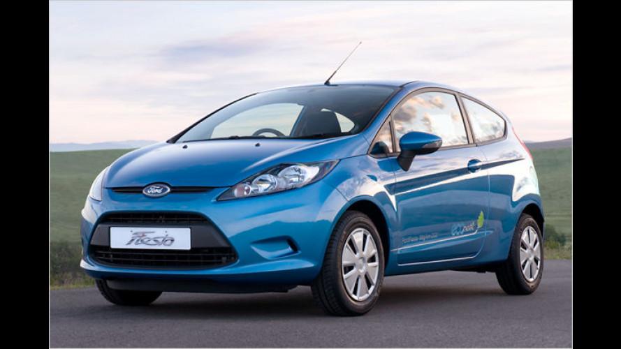 Ford Fiesta Econetic: Die Preise des Öko-Flitzers