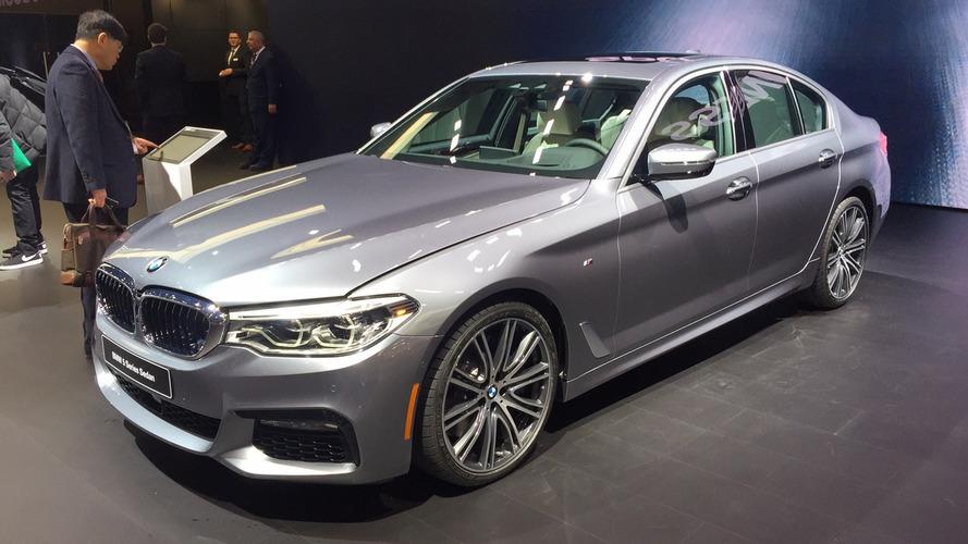 Novo BMW Série 5 estreia em Detroit com mais estilo e desempenho