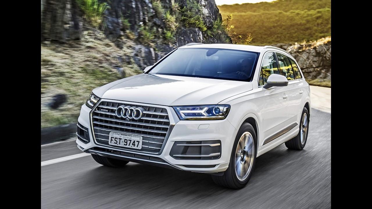 Recall: Audi Q7 tem 83 unidades convocadas no Brasil por problema nos bancos
