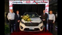 Kia alcança marca de 2 milhões de carros produzidos nos EUA