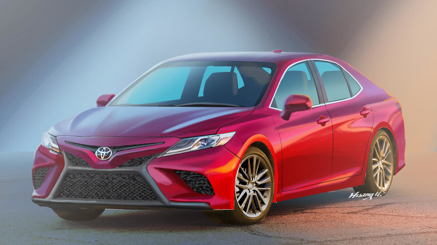 Is this what the new Toyota Camry will look like?