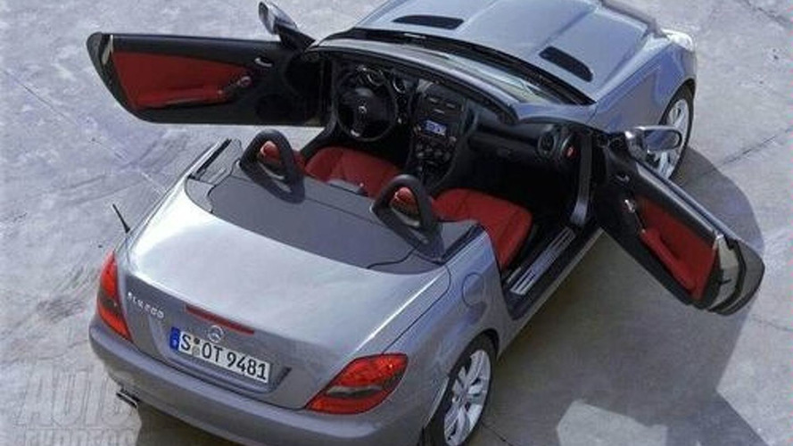 2008 Mercedes-Benz SLK Photos Leaked?