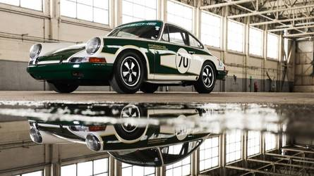 Une Porsche 911 de 1965 restaurée par Porsche Grande-Bretagne