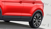 Volkswagen T-Cross, il rendering